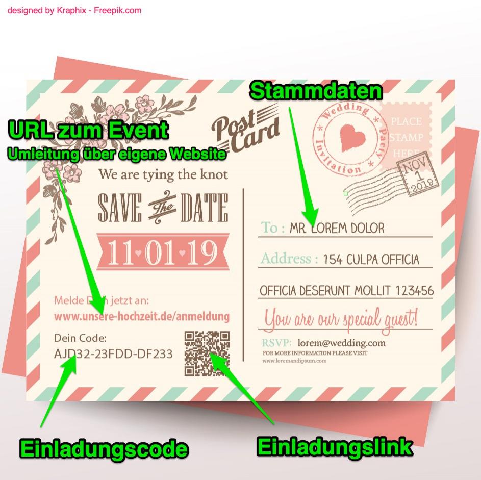 personalisierte einladungskarten